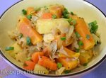 Рагу овощное с картофелем и бататом