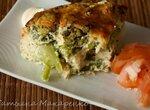 Ассорти из цветной капусты и брокколи в омлете с сыром в аэрофритюрнице