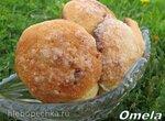 Печенье Творожные лепешки с изюмом