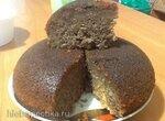 Сливово-миндальный кекс