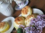 Суфле в лимонных корзинках