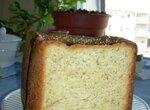 Пшеничный цельнозерновой хлеб  с сыром и сухими травами