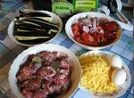Имамбоилди (мясо с баклажанами и сыром)