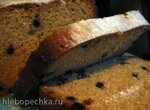 Кекс с изюмом, курагой и кунжутом (хлебопечка)