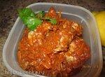 Минтай в томатном соусе с овощами в Oursson MP5005