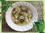 Весенний суп с крапивой и щавелем (скороварка Brand 6050)