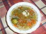 Суп овощной в мультиварке Panasonic SRTMH 18