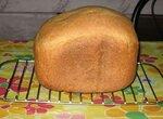 Белый хлеб на молоке с добавлением овсяной муки (хлебопечка)