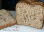 Хлеб с конопушками (Быстрый пшенично-ржаной хлеб на ряженке с хрустящими отрубями)