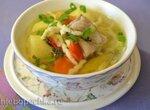 Суп картофельный с пастой в мультиварке Redmond RMC-01