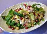 Драматичный салат из отбитых огурцов