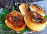 Пирожки с мясом (перемячи), жареные в коптильне-скороварке Brand 6060