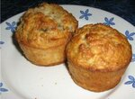 Кексы яблочные с мюсли