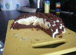 Торт Африка в снегу