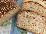 Хлеб с крупкой и льняным семенем