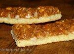 Печенье Орехово-карамельные полоски