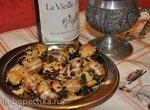 Улитки виноградные запеченные