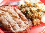 Мясо и овощи в тандыре