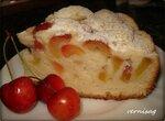 Пирог с черешней и нектаринами   в Cuckoo 1051