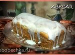 Кекс с цукатами и кремом из сливочного сыра
