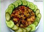 Нарханги - тушеное мясо с овощами по-узбекски (в мультиварке-скороварке Brand 6051)