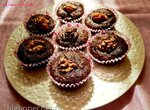 Шоколадно-кабачковые кексы от Марты Стюарт