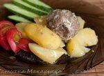 Тефтели с картофелем в скороварке Бранд 6051