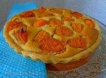 Абрикосово-миндальный пирог