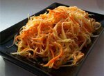 Два салата по-корейски