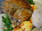 Жаркое из свиной корейки  (мультиварка-скороварка Brand 6051)