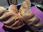 Горчично-кукурузный хлеб с сыром