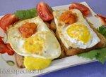 Яйцо бутербродное на электрогриле Steba FG 95