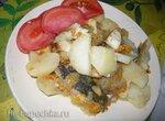 Рыба с картофелем под сыром (Steba DD1)