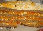 Печеночный торт в мультиварке Polaris 0508D floris