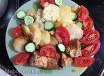 Семга с картошкой под сыром (Steba dd1)