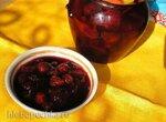 Вишнево-персиковый конфитюр