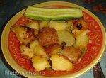 Картофель по-селянски (мультиварка Brand 37501)