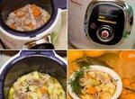 Тушеная картошка со свининой в Moulinex Cook4me CE701132