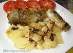 Навага жареная с картофелем в Steba DD1 ECO