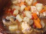 Суп картофельный с грибами и курочкой( скороварка Steba DD1)