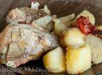 Мясо с картошкой в Сибризке