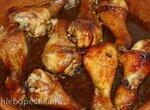 Курица  под соусом терияки