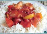 Кисло-сладкая курица с вишней (Sweet and Sour Chicken with Cherries)