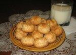 Печенье бисквитное кокосовое