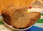 Простой ржано-пшеничный хлеб в хлебопечке
