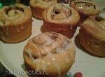 Булочки-маффины с яблоком и корицей