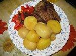 Дуэт: ребрышки + картофель (мультиварка Steba DD1 ECO)
