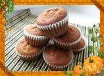 Тыквенные маффины с ирисками (Cornish Toffee Honeycomb Pumpkin Muffins)