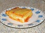 Пирог из поленты с четырьмя видами сыра