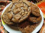 Шоколадное печенье (Chocolate brownie cookies)